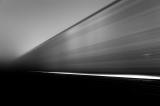 C Train in Fog at Midnight - 2