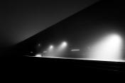 C Train in Fog at Midnight - 1