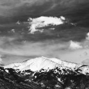 Cloud over Sangre de Cristo Mountains