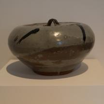 Hagi Ware - Nakazato Taki - Decorated Karatsu fresh-water jar