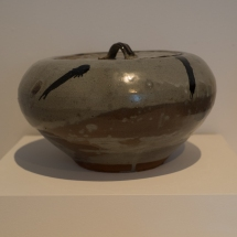 Hagi Ware - Nakazato Taki - Decorated Karatsu fresh-water jar