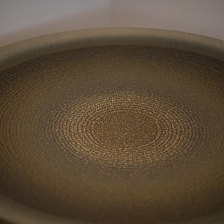 Kyoto vicinity and Tamba - Ichino Genwa - Platter with slip decor