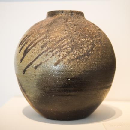 Bizen Ware - Yamamoto Ryuichi - Vase with kiln effects