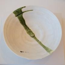 Seto and Mino Ware - Ito Hidehito - Oribe bowl