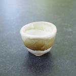 Celadon over white base